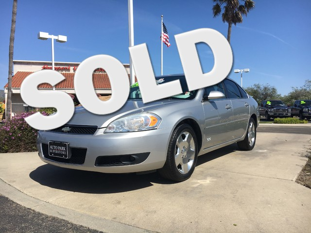 2006 Chevrolet Impala SS This is a 2006 Chevy Impala SS Silver Metallic Exterior Gray Leather In