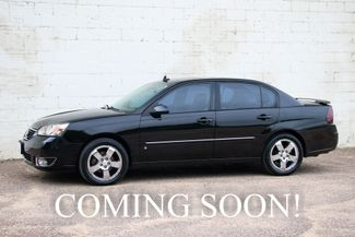 2006 Chevrolet Malibu LTZ with Heated Seats, Moonroof, in Eau Claire, Wisconsin