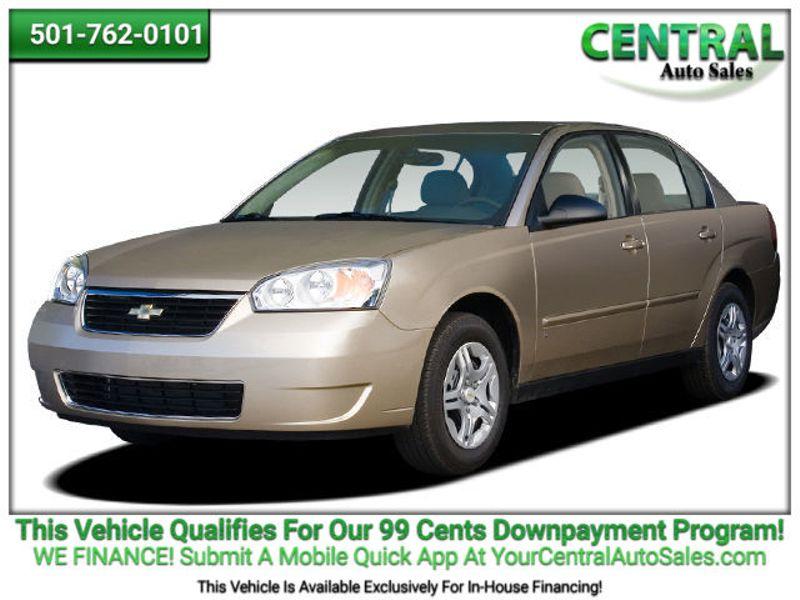 2006 Chevrolet Malibu LT w/0LT | Hot Springs, AR | Central Auto Sales in Hot Springs AR