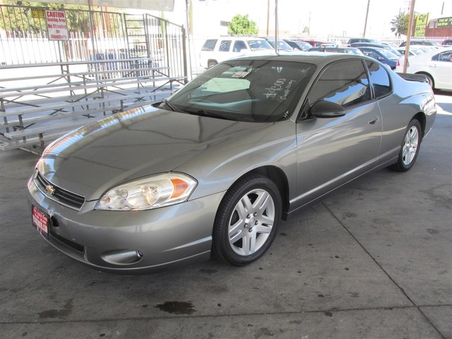2006 Chevrolet Monte Carlo LT 39L Please call or e-mail to check availability All of our vehic