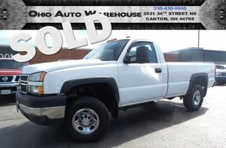 2006 Chevrolet Silverado 2500HD 4x4 Duramax TURBO DIESEL Clean Carfax We Finance | Canton, Ohio | Ohio Auto Warehouse LLC in  Ohio