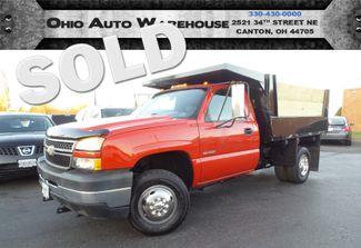 2006 Chevrolet Silverado 3500 4x4 1-Ton Dump Truck 1-Own Cln Carfax We Finance | Canton, Ohio | Ohio Auto Warehouse LLC in  Ohio