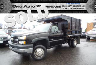 2006 Chevrolet Silverado 3500 4x4 V8 1 Ton Dump Truck We Finance | Canton, Ohio | Ohio Auto Warehouse LLC in  Ohio