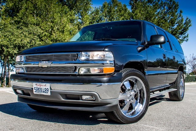 "2006 Chevrolet Suburban LS - 107K MILES - 20"" WHLS - TOW PKG - 3RD ROW Reseda, CA 35"