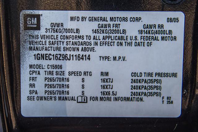 "2006 Chevrolet Suburban LS - 107K MILES - 20"" WHLS - TOW PKG - 3RD ROW Reseda, CA 34"