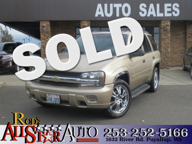 2006 Chevrolet TrailBlazer LS 4WD The CARFAX Buy Back Guarantee that comes with this vehicle means
