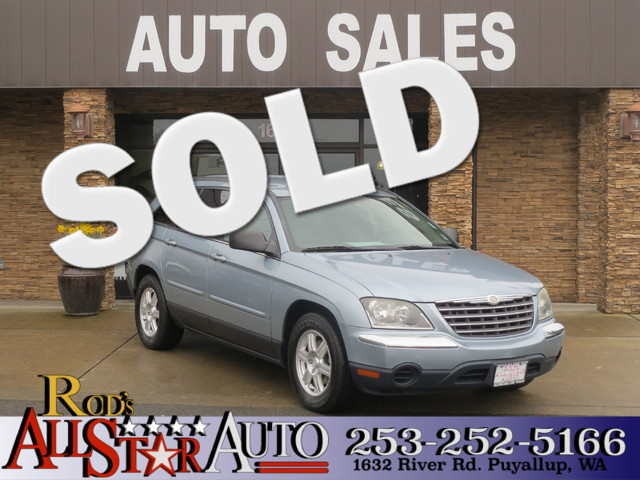 2006 Chrysler Pacifica Touring The CARFAX Buy Back Guarantee that comes with this vehicle means th
