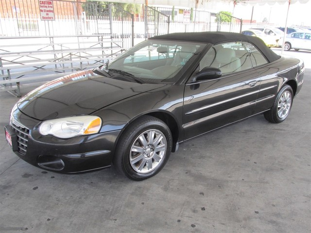 2006 Chrysler Sebring Limited Please call or e-mail to check availability All of our vehicles a