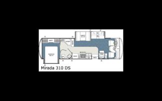 2006 For Rent- Mirada by Coachmen 33' Double Slideout Katy, Texas 29