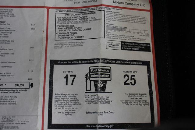 2006 Dodge Charger R/T - ELECTRONICS/CONVENIENCE/SOUND PKGS Mooresville , NC 40