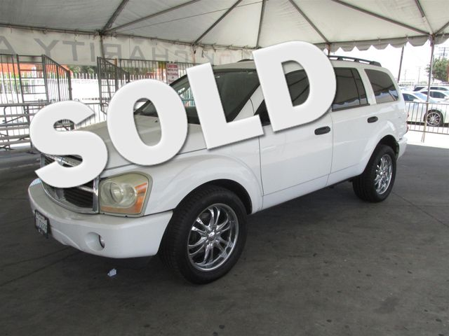2006 Dodge Durango SLT This particular Vehicle comes with 3rd Row Seat Please call or e-mail to c