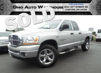2006 Dodge Ram 1500 4x4 HEMI Big Horn QuadCab Cln Carfax We Finance | Canton, Ohio | Ohio Auto Warehouse LLC in  Ohio