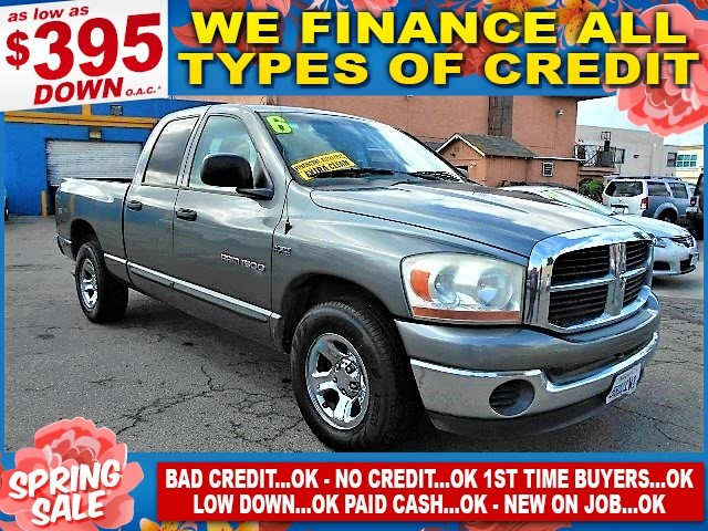 2006 Dodge Ram 1500 ST Limited warranty included to assure your worry-free purchase AutoCheck rep