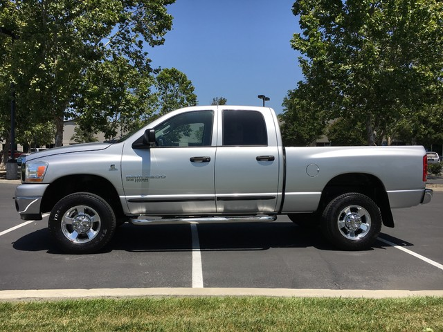 2006 dodge ram 2500 4x4 5 9 cummins diesel slt crew cab 1 owner truck livermore california 94551. Black Bedroom Furniture Sets. Home Design Ideas