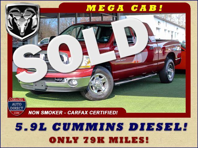 2006 Dodge Ram 2500 SLT MEGA Cab RWD - 5.9L CUMMINS DIESEL! Mooresville , NC 0