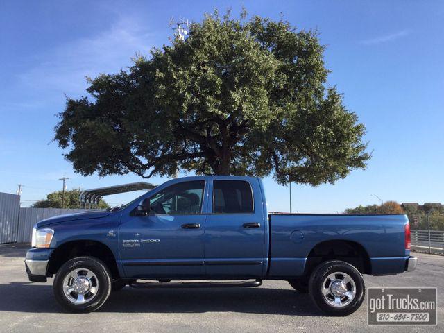 2006 Dodge Ram 2500 Crew Cab SLT 5.9L Cummins Turbo Diesel 4X4   American Auto Brokers San Antonio, TX in San Antonio Texas
