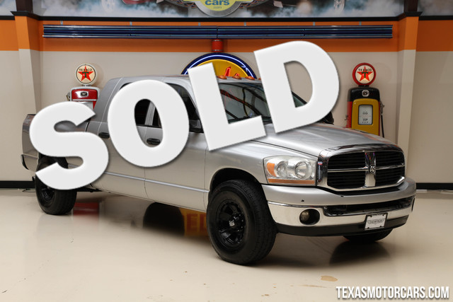 2006 Dodge Ram 3500 SLT This Carfax 1-Owner 2006 Dodge Ram 3500 SLT is in great shape with only 14