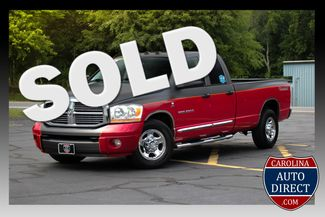2006 Dodge Ram 3500 Laramie Quad Cab Long Bed RWD - NAV - SUNROOF! Mooresville , NC
