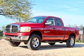 2006 Dodge Ram 3500 SRW SLT Quad Cab 4X4 5.9L Cummins Diesel 6 Speed Manual Sealy, Texas 5