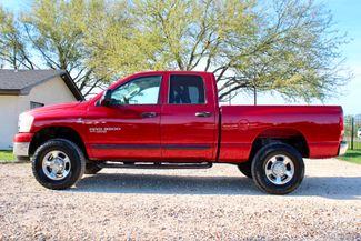 2006 Dodge Ram 3500 SRW SLT Quad Cab 4X4 5.9L Cummins Diesel 6 Speed Manual Sealy, Texas 6