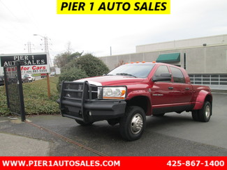 2006 Dodge Ram 3500 4x4 DRW LB SLT Seattle, Washington