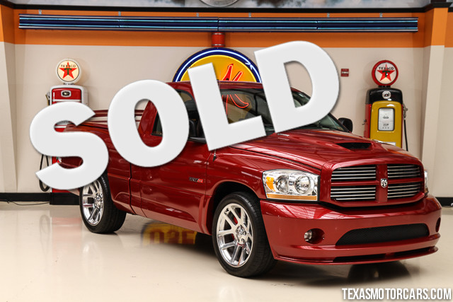 2006 Dodge Ram SRT-10 This Carfax 1-Owner accident-free 2006 Dodge Ram SRT-10 is in show car cond