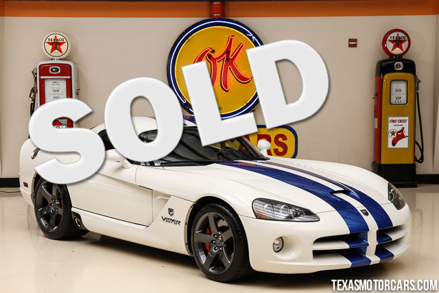2006 Dodge Viper SRT10 This Clean Carfax 2006 Dodge Viper SRT10 is in great condition with only 18