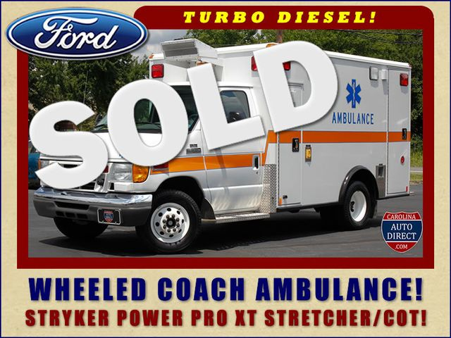 2006 Ford Econoline Commercial Cutaway E350 WHEELED COACH AMBULANCE TYPE III Mooresville , NC 0