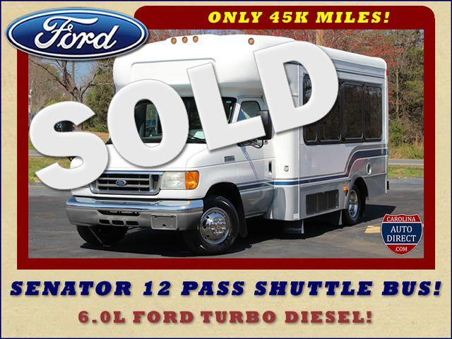 2006 Ford Econoline Commercial Cutaway E350 12 PASS Shuttle Bus/Van - 6.0L DIESEL! Mooresville , NC 0