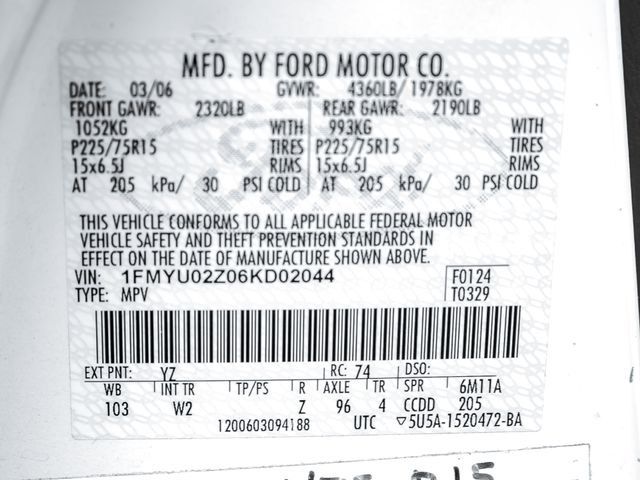 2006 Ford Escape XLS Burbank, CA 22