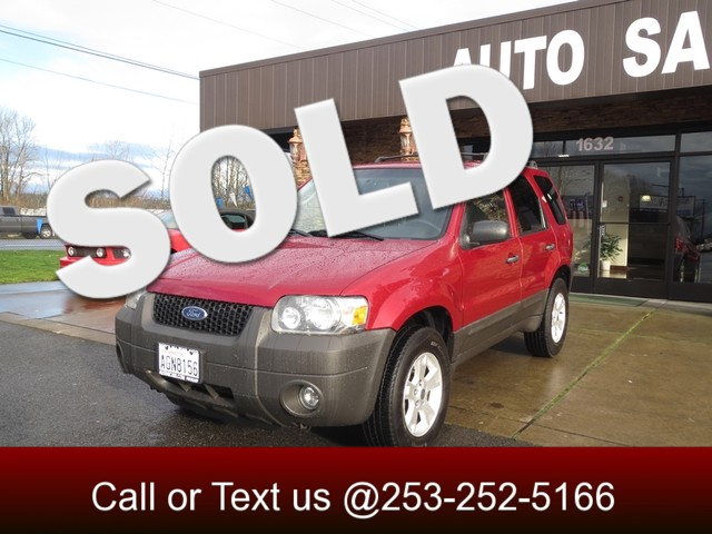 2006 Ford Escape XLT Sport 4WD The CARFAX Buy Back Guarantee that comes with this vehicle means th