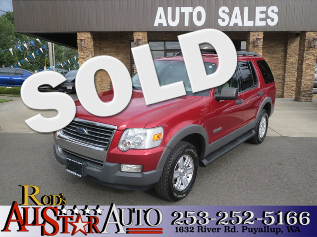 2006 Ford Explorer XLT 4WD The CARFAX Buy Back Guarantee that comes with this vehicle means that y