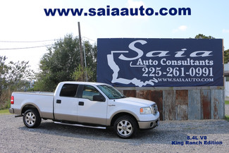 2006 Ford F150 Super Crew King Ranch 2wd 5.4 V8 Tow Pkg Htd Seats Only 67k Miles in Baton Rouge  Louisiana