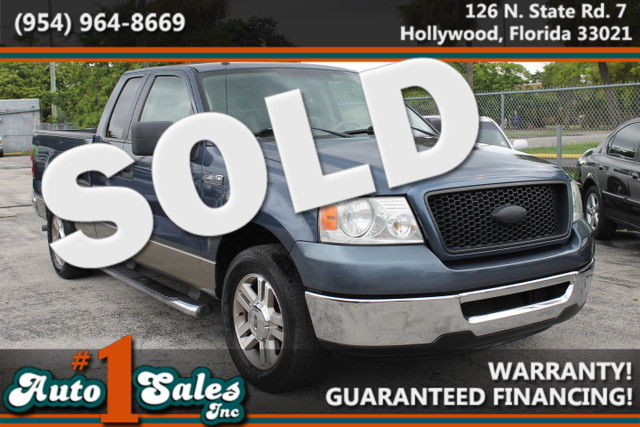 2006 Ford F-150 XLT  WARRANTY 2 OWNERS  FLORIDA VEHICLE This 2006 Ford F150 is a perfect