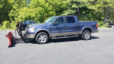 2006 Ford F-150 Lariat w Plow | Ogdensburg, New York | Rishe's Auto Sales in Ogdensburg, New York