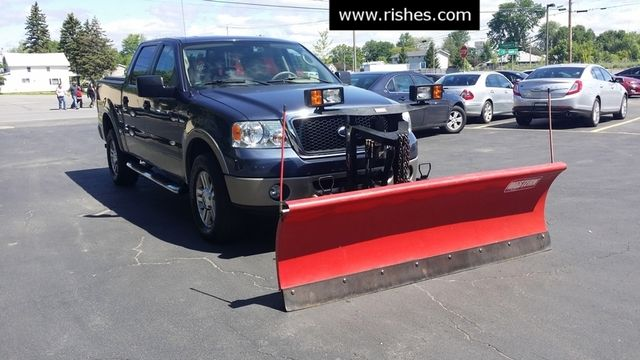 2006 Ford F-150 Lariat w Plow | Ogdensburg, New York | Rishe's Auto Sales in Ogdensburg New York
