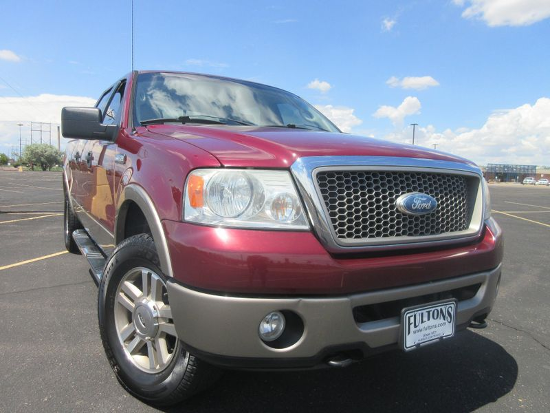 2006 Ford F-150 Supercrew Lariat 4X4  Fultons Used Cars Inc  in , Colorado