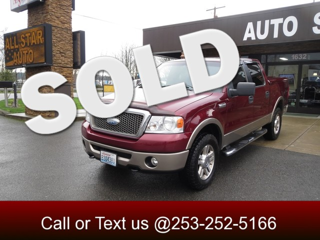 2006 Ford F-150 Lariat 4WD The CARFAX Buy Back Guarantee that comes with this vehicle means that y