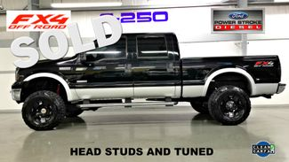 2006 Ford  F250 6.0L POWERSTROKE DIESEL 4x4 BULLETPROOFED CLEAN CARFAX Studded HEAD STUDS LIFTED TRUCK | Palmetto, FL | EA Motorsports in Palmetto FL