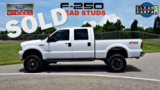2006 Ford F250 6.0l Diesel HEAD STUDS SUPER DUTY CLEAN CARFAX 4X4   Palmetto, FL   EA Motorsports in Palmetto FL