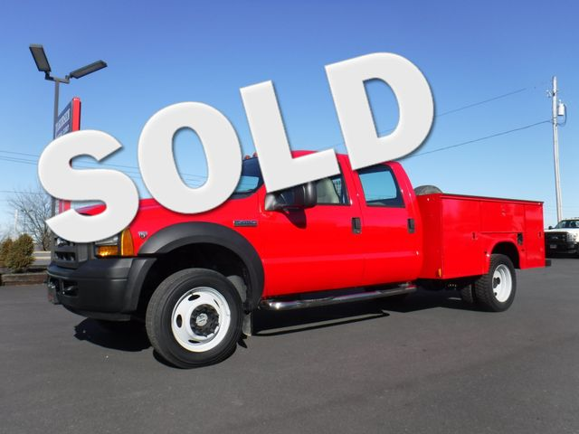 2006 Ford F450 Crew Cab 9FT Utility 4x4 in Ephrata PA