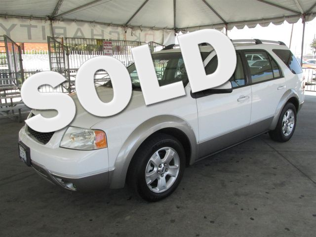 2006 Ford Freestyle SEL This particular Vehicle comes with 3rd Row Seat Please call or e-mail to