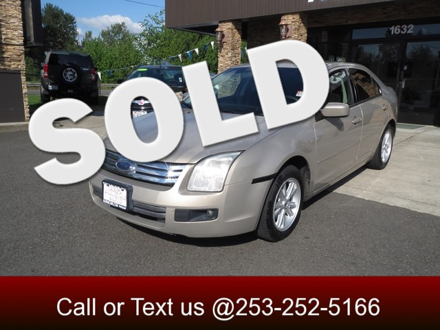 2006 Ford Fusion SE The CARFAX Buy Back Guarantee that comes with this vehicle means that you can