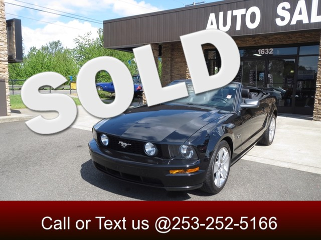 2006 Ford Mustang GT Premium The CARFAX Buy Back Guarantee that comes with this vehicle means that