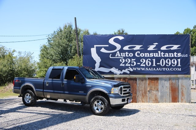 2006 Ford Super Duty F250 Crew Cab Lariat FX4 6.0 Diesel 4WD Loaded TWO OWNER CLEAN CARFAX READY TO GEAUX | Baton Rouge , Louisiana | Saia Auto Consultants LLC in Baton Rouge  Louisiana