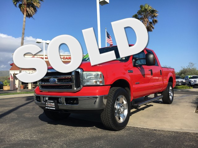 2006 Ford Super Duty F-250 Lariat This is a Ford F-250 Crew Cab Lariat Red Exterior Tan Leather