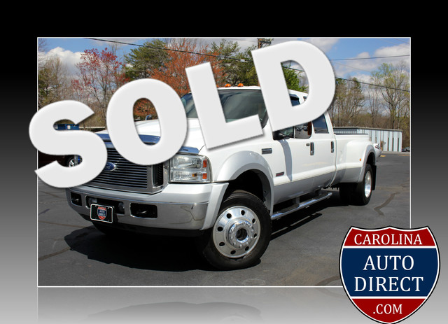 2006 Ford Super Duty F-550 DRW Lariat-BULLET-PROOFED-4X4 Mooresville , NC 0