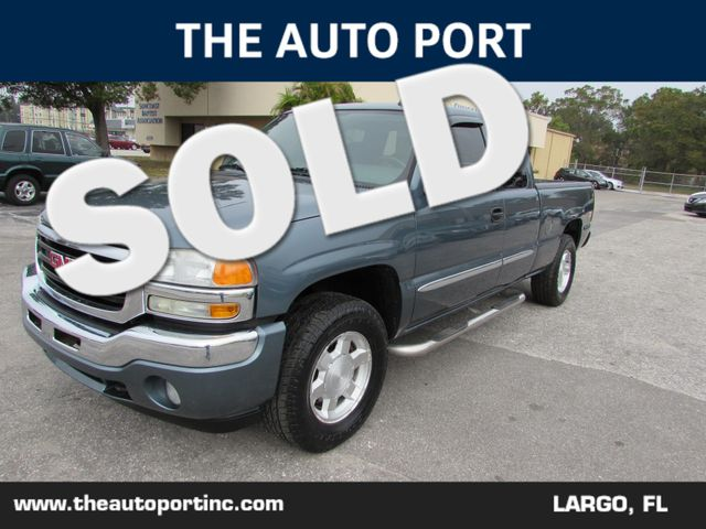 2006 GMC Sierra 1500 SLE2/Z-71 OFF ROAD   Clearwater, Florida   The Auto Port Inc in Clearwater Florida
