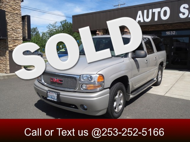 2006 GMC Yukon XL Denali AWD The CARFAX Buy Back Guarantee that comes with this vehicle means that