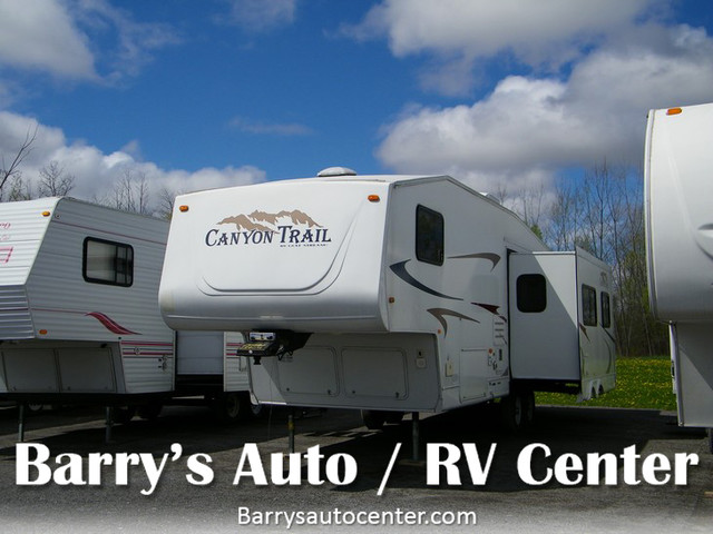 2006 Gulf Stream Canyon Trail 29RLFW  city NY  Barrys Auto Center  in Brockport, NY